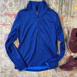 Nike Dri-Fit Polk-a-dot Blue Pullover
